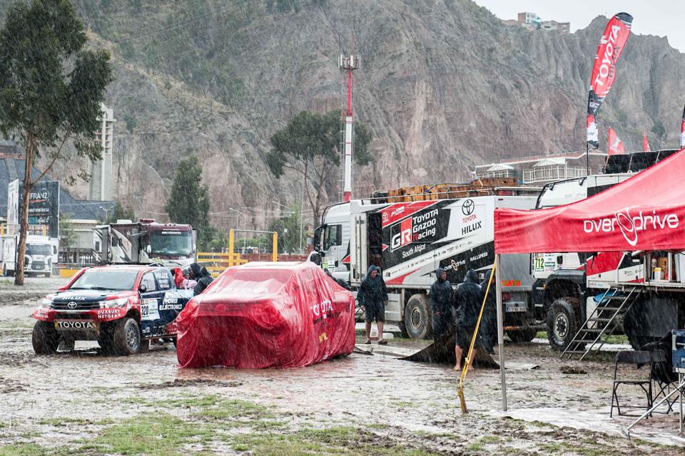 Как машины Toyota прошли через адДакара-2017. Фото 11