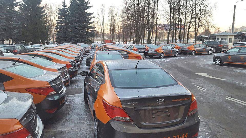 В российской столице появятся 10 тыс. каршеринговых машин