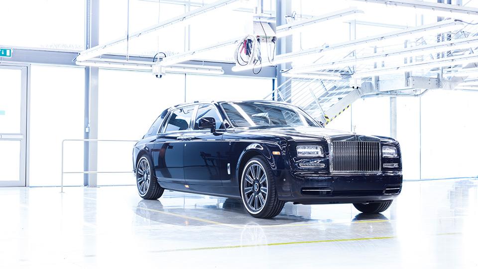 Rolls-Royce завершил производство лимузина Phantom - Rolls-Royce