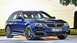 Новая BMW 5-серии получила и версию универсал - BMW
