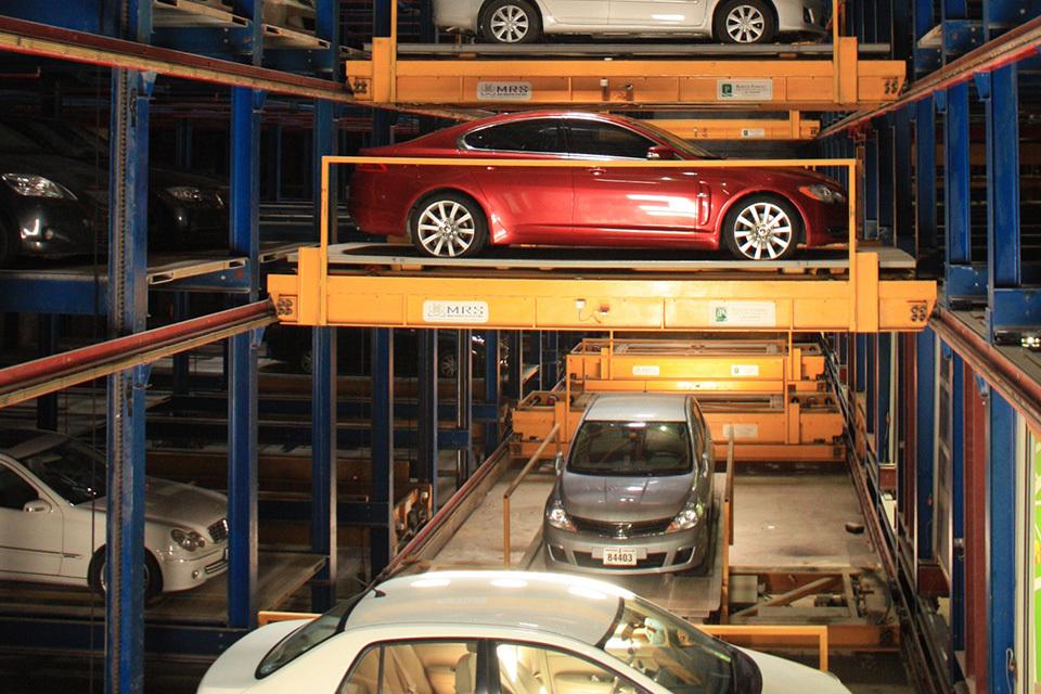 12 необычных парковок . Фото 10