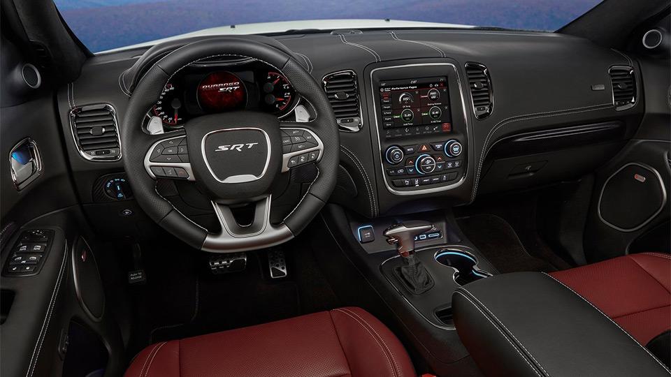 Улучшенный Dodge Durango SRT 2018 засняли на уличных испытаниях