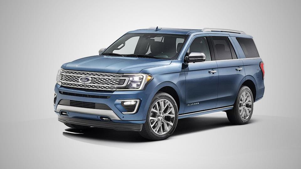Новый Форд Expedition получил алюминиевый кузов идесятиступенчатый «автомат»