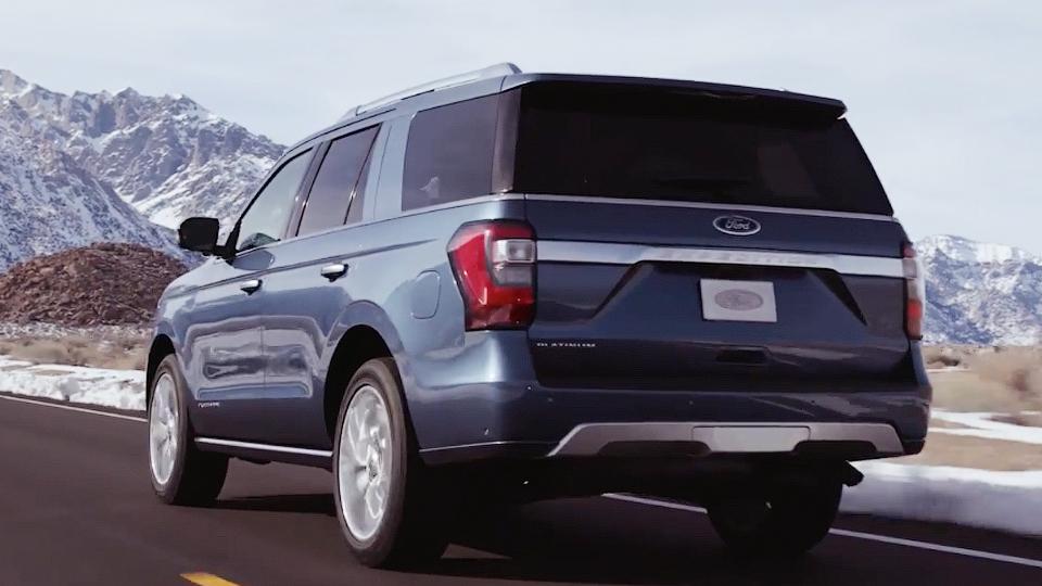 Появились первые изображения нового Форд Expedition