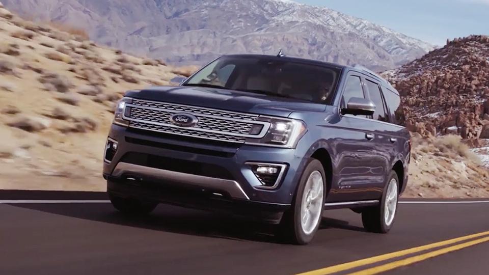 Форд Expedition стал на136 килограммов легче