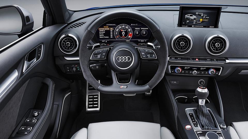 ВЖеневе покажут Ауди RS3 Sportback сновым 5-ти цилиндровым двигателем