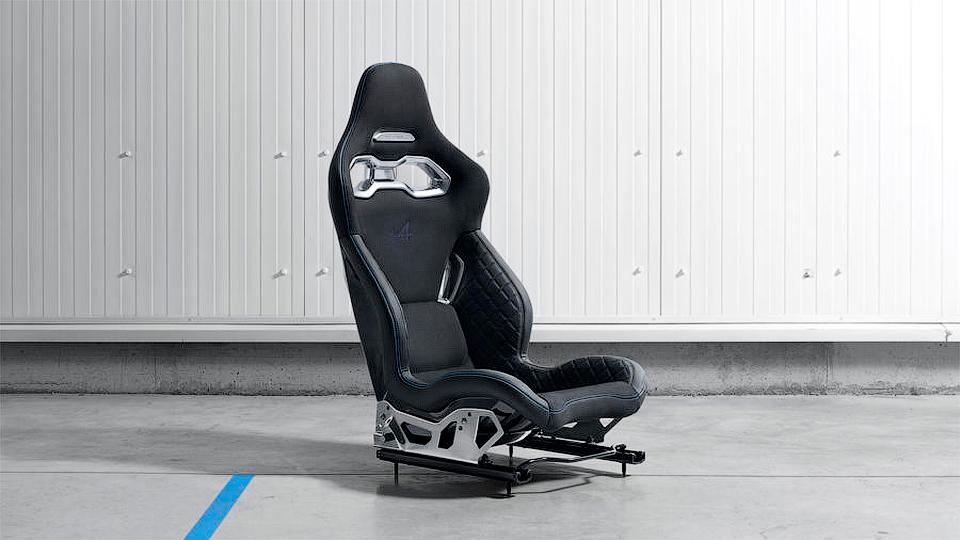 В Рэно показали элемент интерьера нового спорткара Альпин A120