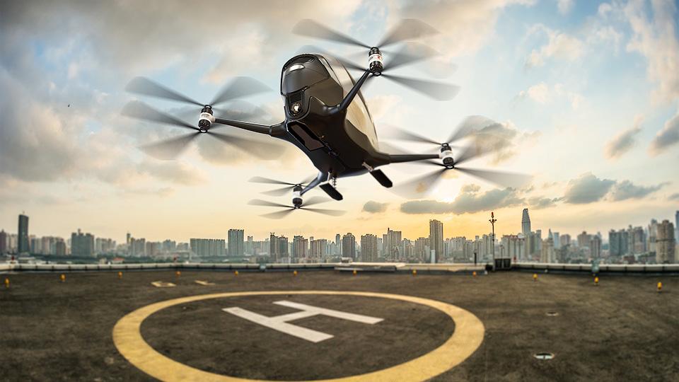 Беспилотное летающее такси в дубае дополнения к базовой комплектации phantom недорогой