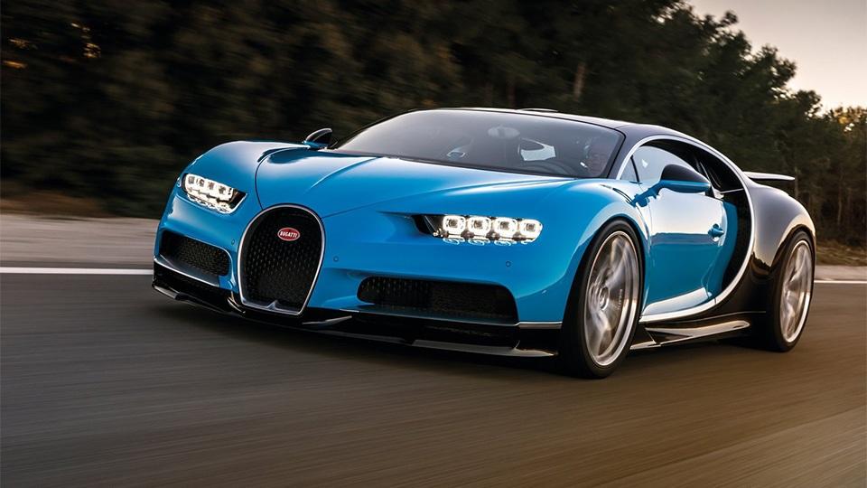 Всего минута: за столько Bugatti Chiron делает 0-400-0 км/ч