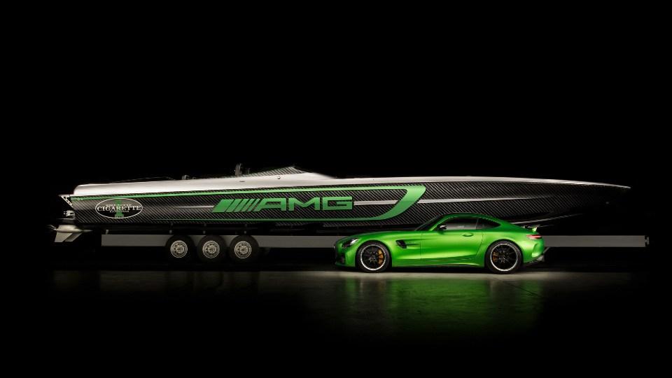 15-метровый Marauder AMG построен вчесть экстремального купе AMG GTR