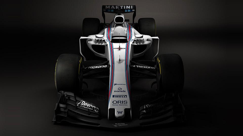 Команда Williams показала новый авто