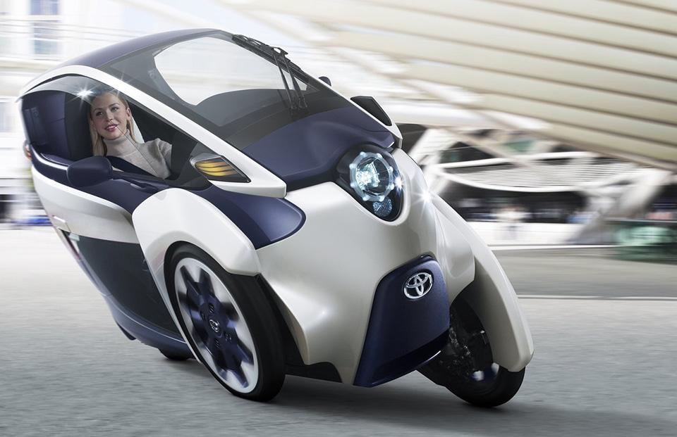 Кадры концепта Тойота I-TRIL опубликовали винтернете