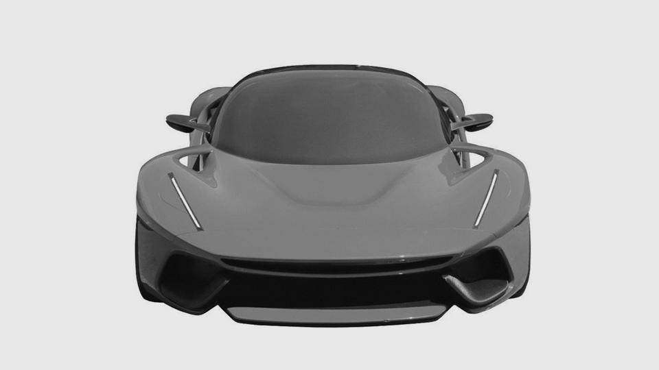 Феррари запатентовала дизайн нового автомобиля