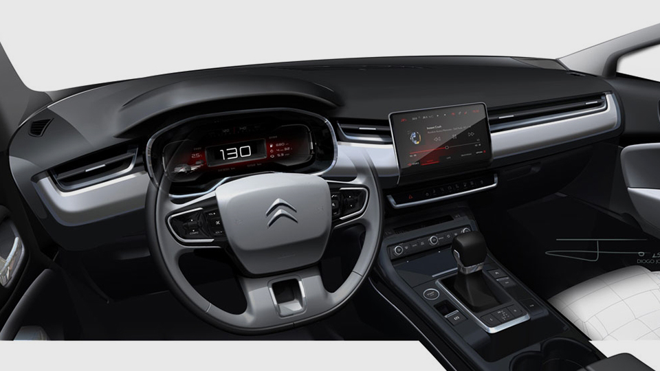 «Ситроен» навсе 100% изменил дизайн седана C5