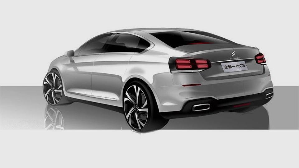 «Ситроен» на100% изменил дизайн седана C5