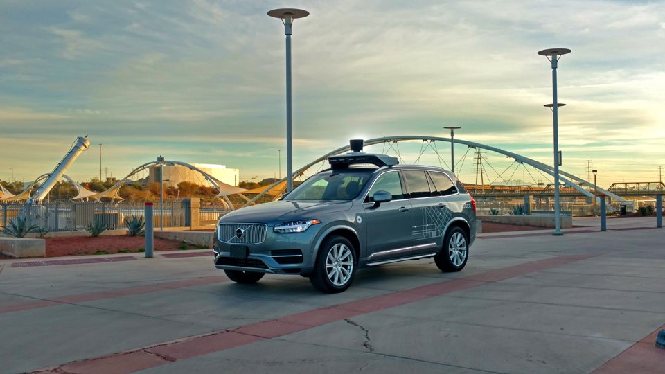 Uber запустил вштате Аризона беспилотные такси