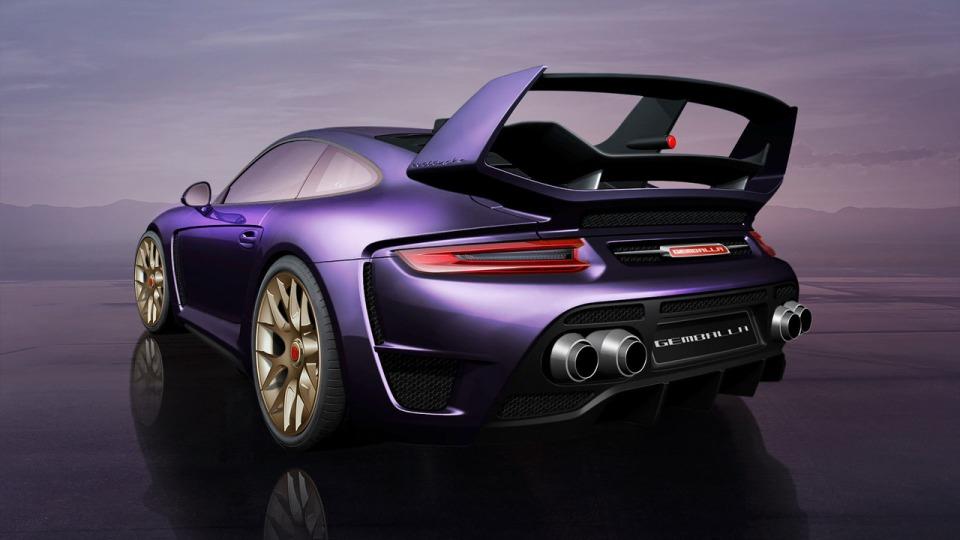 Gemballa построил 820-сильный 911 Turbo
