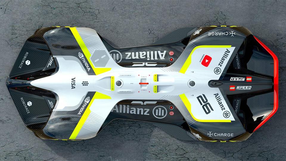 Автономные гоночные машины смогут разгоняться до 320 км/ч. Фото 1