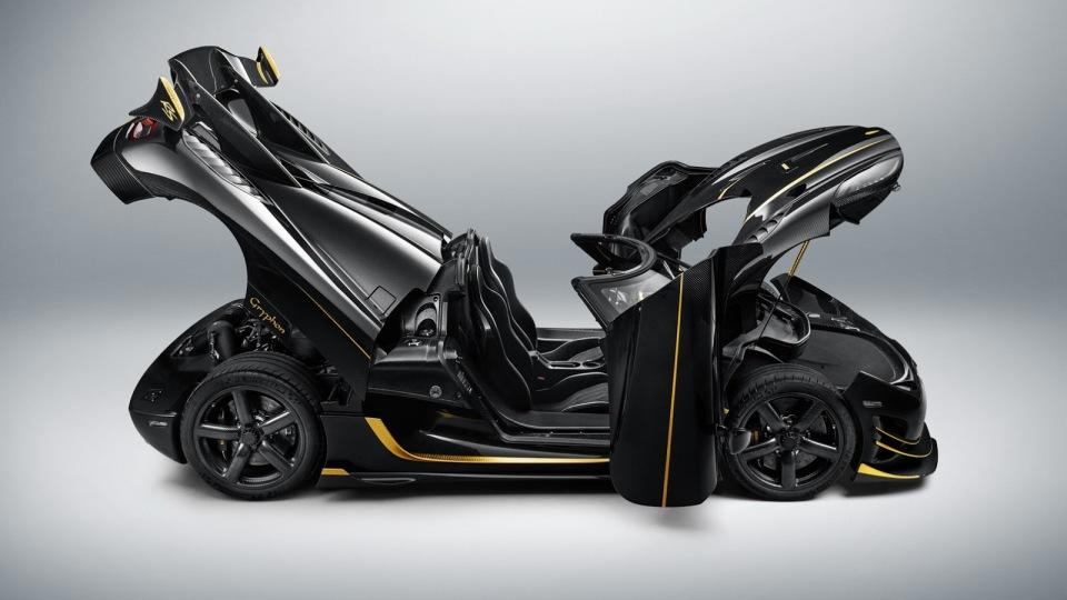 Koenigsegg привезет вЖеневу эксклюзивный AgeraRS Gryphon