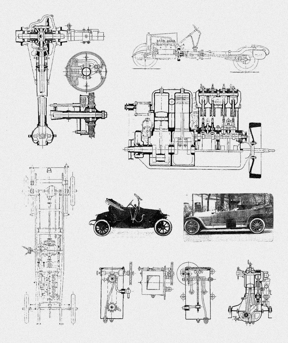 Отправляемся наавтосалон начала прошлого века: премьеры, чудеса итехнологии. Фото 24