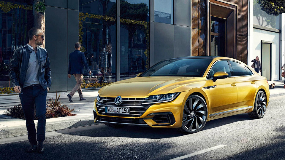 Volkswagenпредставил купеобразный седан Arteon