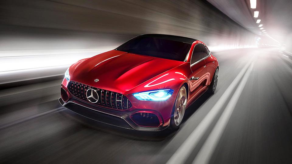 4 двери и805 л. с.: встречайте Mercedes-AMGGT Concept
