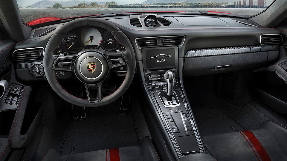 ВЖеневе презентовали спорткар Porsche 911 GT3 нового поколения