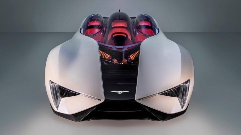 ВЖеневе дебютировал серийный дизель-электрический суперкар Techrules Ren. Фото 1