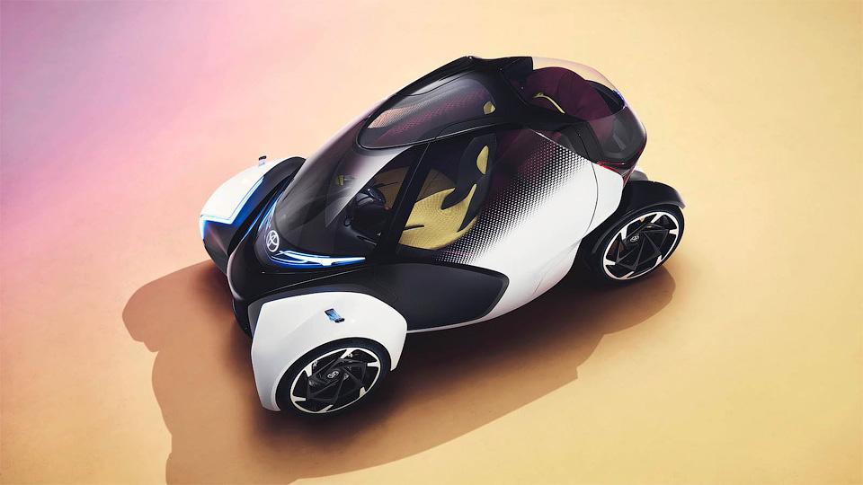 ВЖеневе Тойота  удивила концептом без руля ипедалей