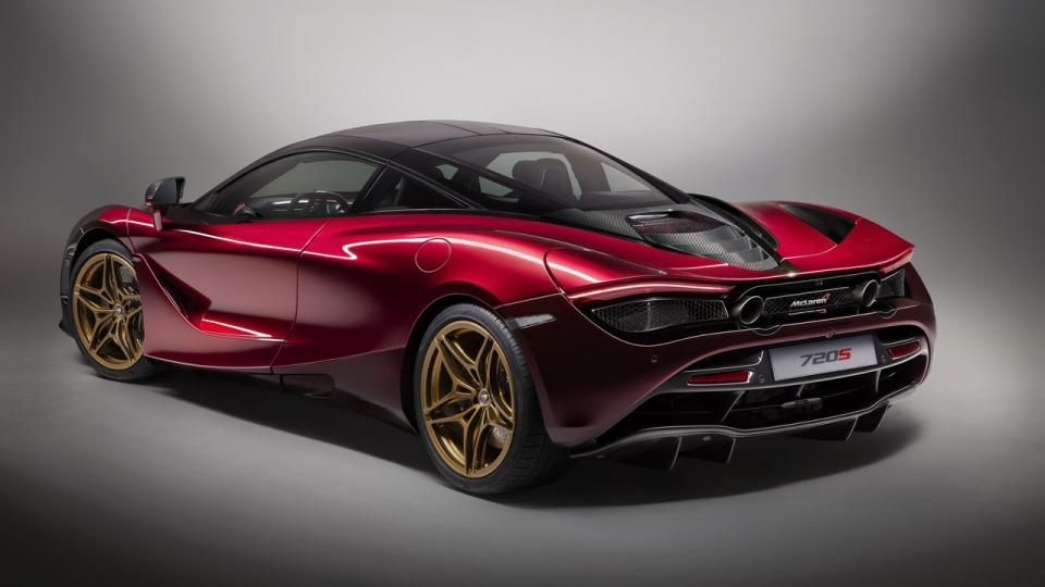 Новое купе МакЛарен 720S Velocity представили автолюбителям