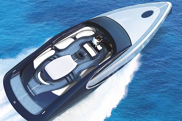 Бугатти выпустили яхту встиле модели Chiron
