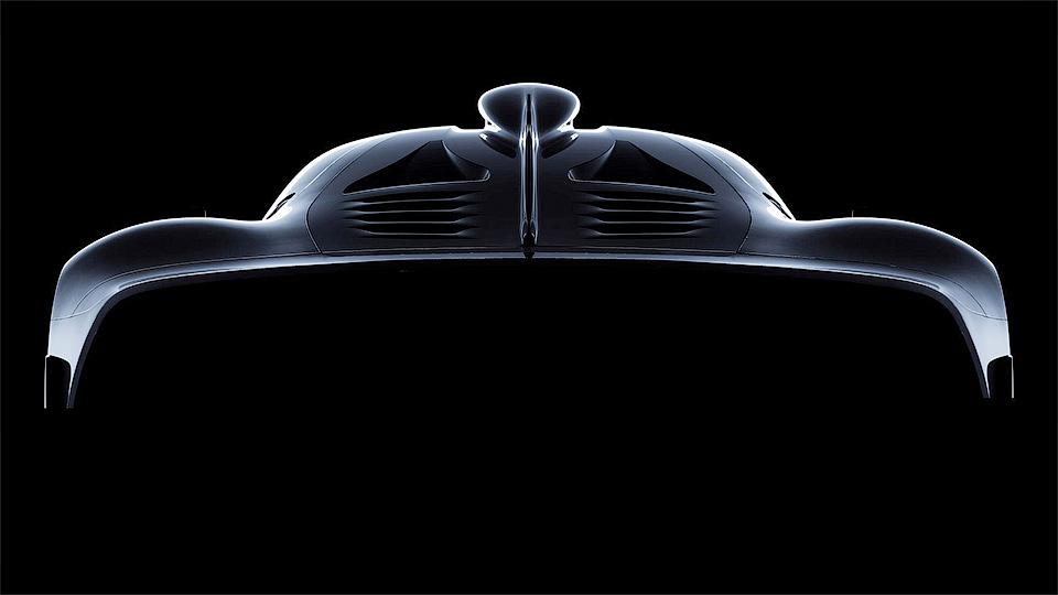 Рассекречены технические данные гиперкара Mercedes Project One