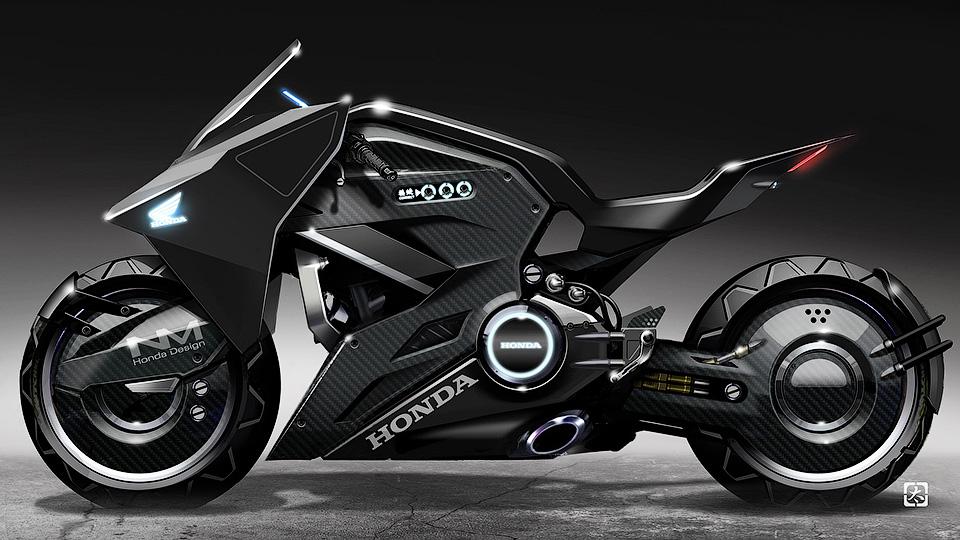 Хонда сделала мотоцикл для фильма «Призрак вдоспехах»