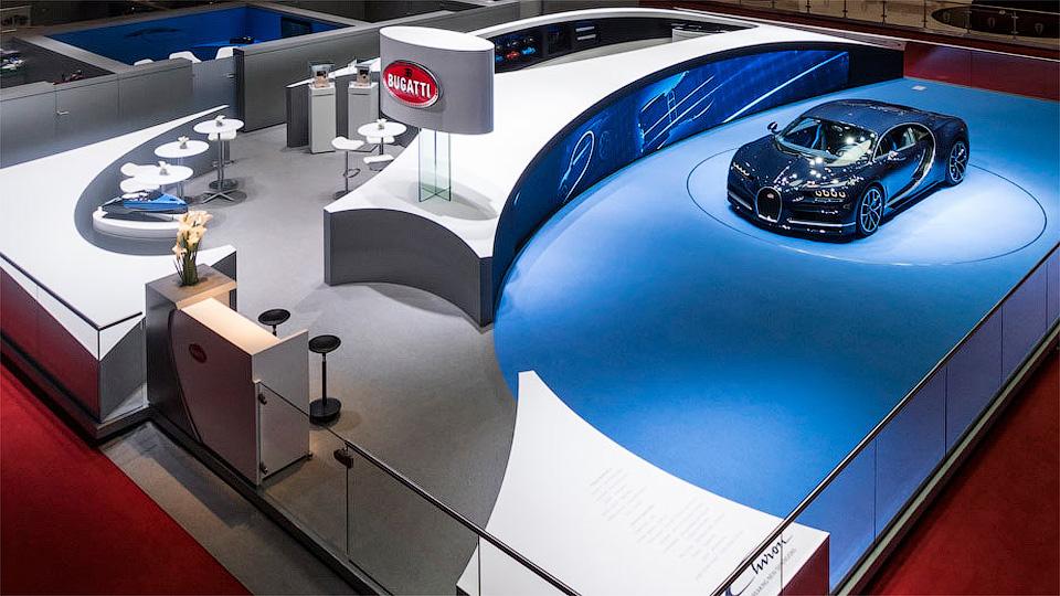 Стенд Bugatti признали лучшим наЖеневском моторшоу