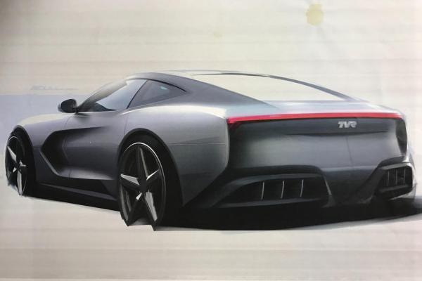 Новое спортивное купе отTVR представят вначале осени