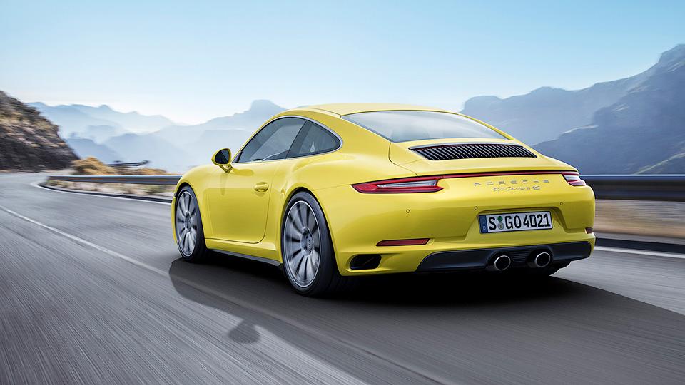 Несколько моделей Порше 911 получили дополнительные 30 л. с
