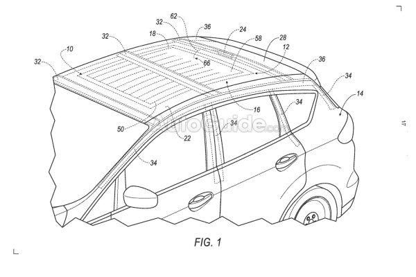 Компания Форд создала революционную подушку безопасности напотолке