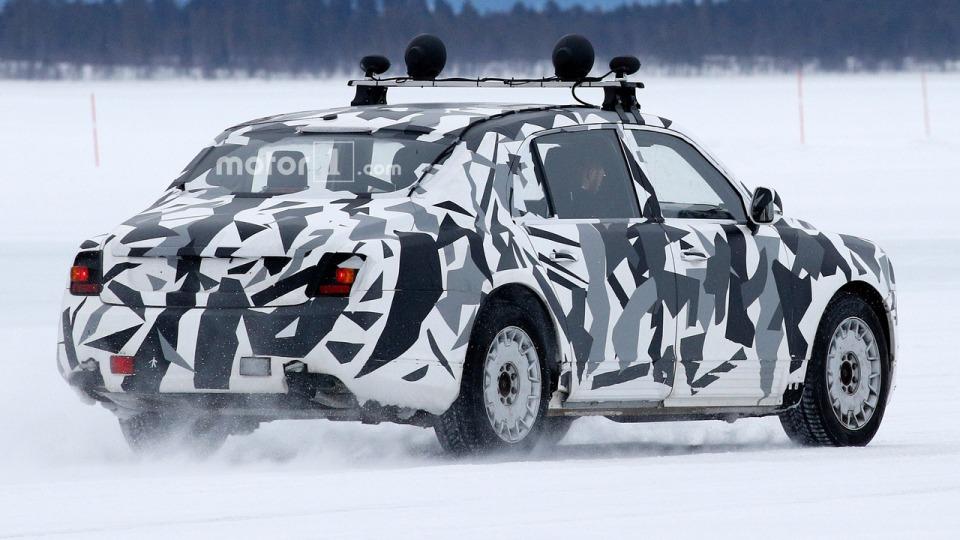 Автомобиль изпроекта «Кортеж» замечен натестах вШвеции