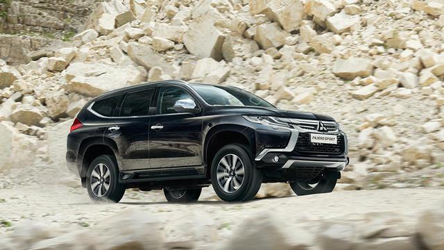 Mitsubishi назвала рублевые цены дизельного Pajero Sport
