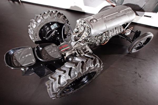 Lamborghini выпустит 5 тракторов поцене в эвро 250 000