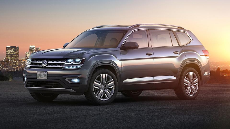 Volkswagen принял решение продавать в России самый большой внедорожник