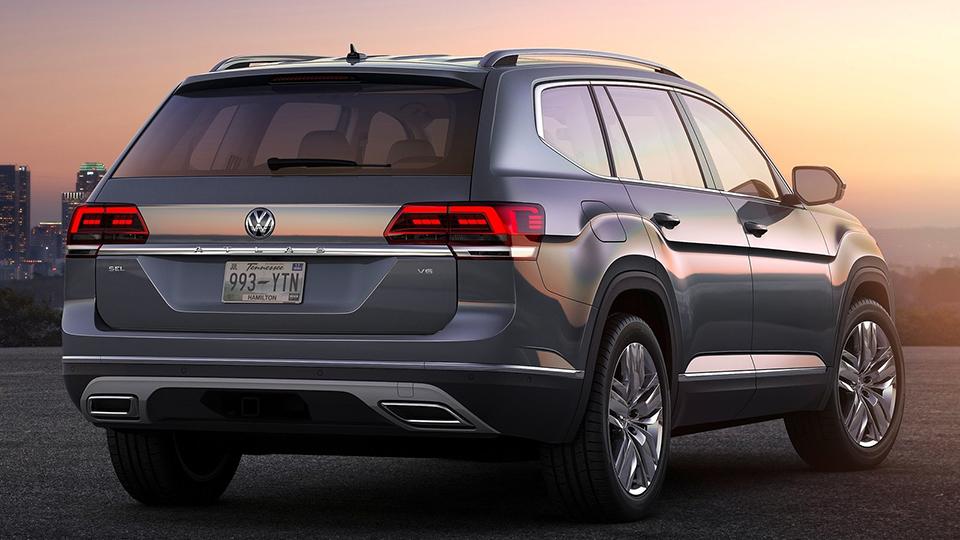 Volkswagen Teramont будет продаваться вРФтолько сполным приводом