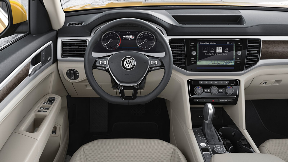 Volkswagen Teramont будет продаваться вРФтолько сполным приводом. Фото 1