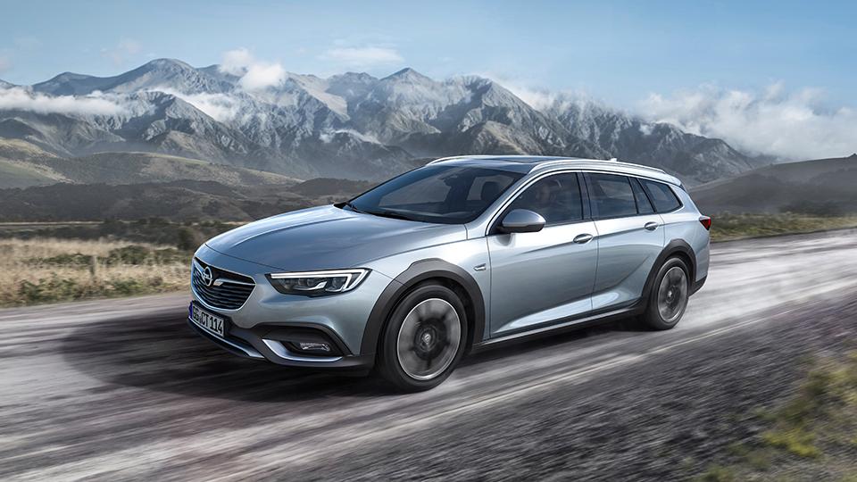 Opel представил внедорожную Insignia