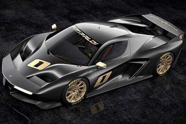 Трековый суперкар Fittipaldi EF7 оценили в1,5 млн. долларов
