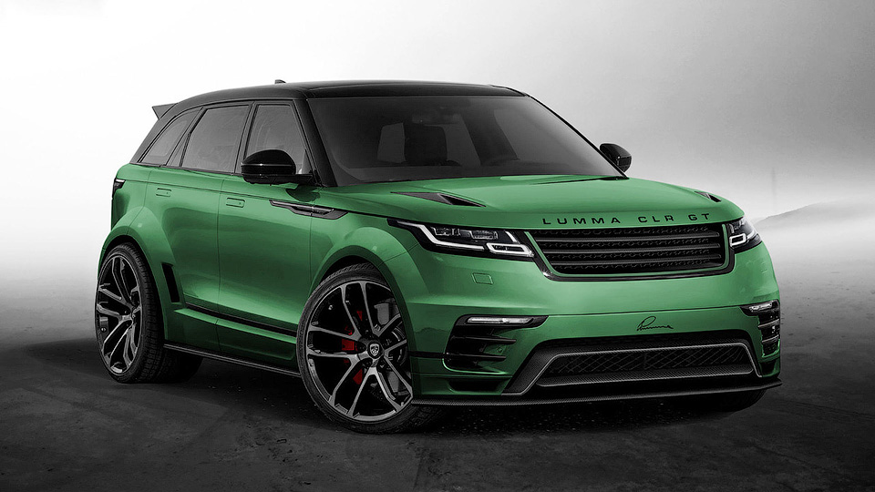 Назван срок презентации нового Range Rover Velar