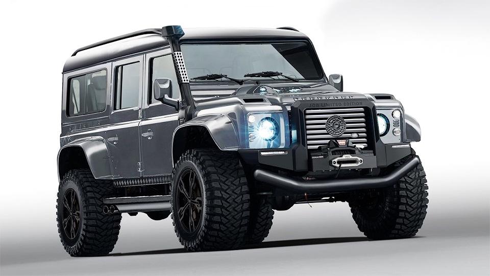 Бывший глава «Лотуса» придумал очень злой Land Rover Defender сV8