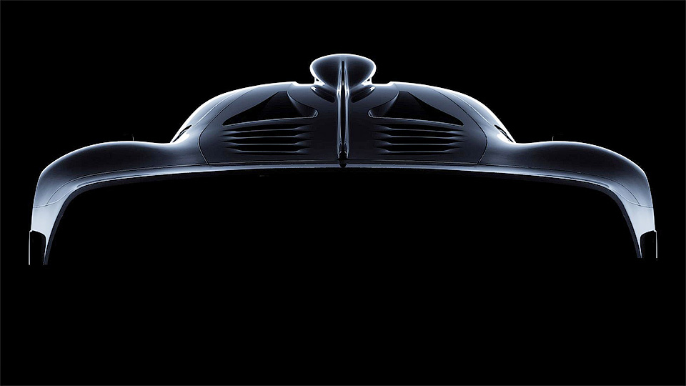 AMG вывел натесты гиперкар Project One