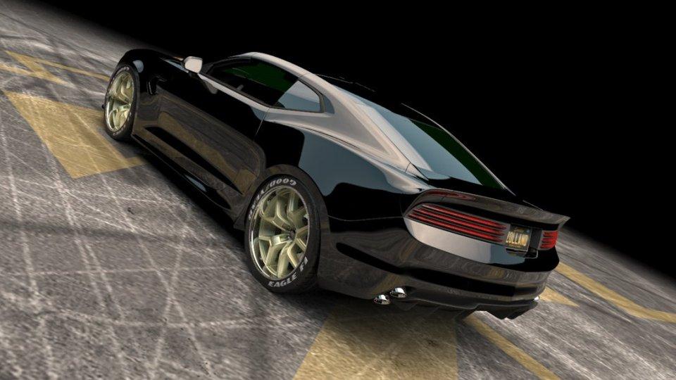 Американцы построили Camaro с7,4-литровым мотором