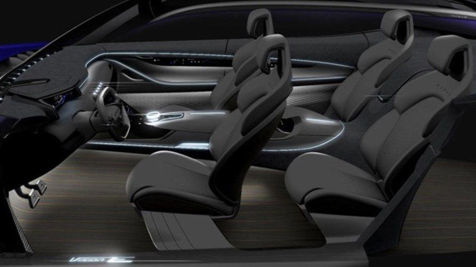 SAIC наШанхайском автомобильном салоне презентует концептуальный автомобиль кроссовера Vision-E